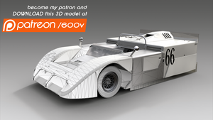 Chaparral 2J - 3D Sketchup Model by 600v