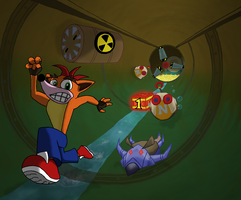 Sewer run by Kumata