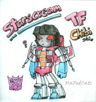 Starscream Chibi Stile by MaXedCats