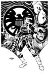 Nick Fury commission 2of 2 by Devilpig