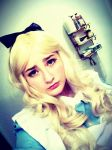 Pouting Alice by whentearsturnbloody