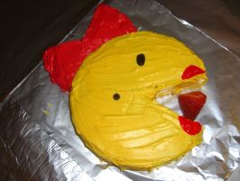 Ms Pac Man Cake by DavisJes