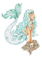 SilverMermaid by LadyVentuswill