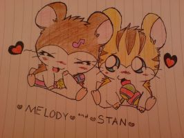 Melody and Stan by GiloloxGikoko