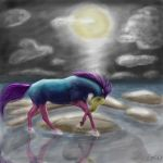 Moon Horse Contest Entry by cass519