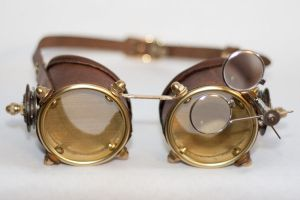 Steampunk Goggles 04 by CraftedSteampunk