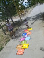 Hopscotch Colors INTEGRATION by Johnny-Aza