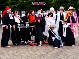 Bleach: Shinigami Group by NekoFlameAlchemist