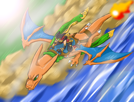 CHARIZARD. by Ruxikah