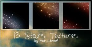Stars textures in color by bbsokar