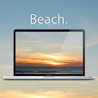 Beach - Wallpaper Set by Iucas