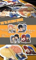 [Preorder] Fairy Tail couple keychains by blanania