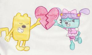 Wubbzy X Daizy 4-ever by wamaluiwal