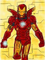 Iron Man by patoftherick