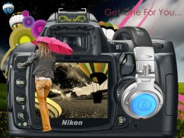 Camera Girl by dinesh1201