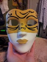 Updated white glove society mask by Maewolf86