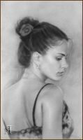 Portraits of Russian women. drawing #1 by yakovdedyk