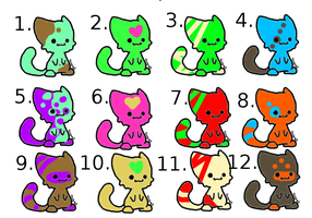 FREE GLOW adopts.CLOSED. by DOV3PAW