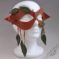 Woods and Vines Mask by Beadmask