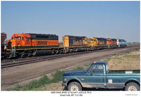 EMD 9045 and 4 more by hunter1828