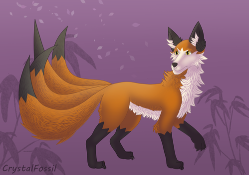 R: Kitsune by CrystalFossil