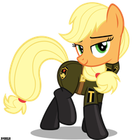 Tovarischa Applejack by A4R91N