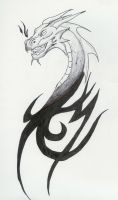 Dragon Tattoo by RivenPanic
