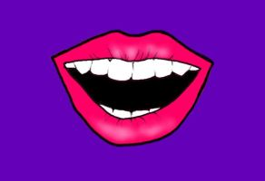 Pop Art Mouth by kaylamckay