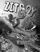 Zitboy Book 2 Cover by sugarpolyp