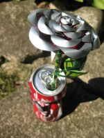 "Coke Can Rose - ""Torn"" 1 by Christine-Eige"