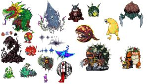 Mario sunshine all bosses by NitendoFan92