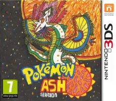 Pokemon Ash Version Cover Art by ProtoTypedKnife