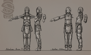 Concept - Female Characters 01 by Salynrad