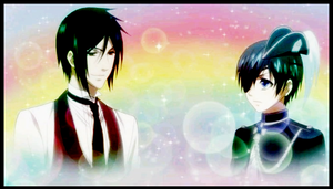 Sebastian and Ciel by aries95a