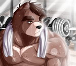 After Training by KEVSKY-DRAWS