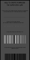Barcode Tut by Philosophical-Art
