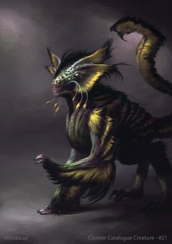 Thelossian - creature concept by Cloister