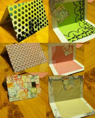 HandMade Stationary Cards2 by JazzleDazzle