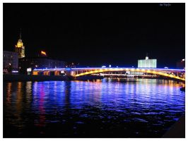 Moscow at night I by Terza
