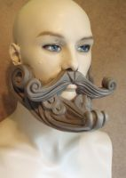 Steam Punk Beard by lionback