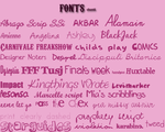 Fonts by ChantiiGG