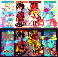[AUCTION ENDED] NEON ADOPTS by txunnpae