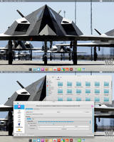 Arch Linux KDE BE::SHELL/BESPIN Quickshot by CraazyT