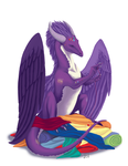 Sewing Hoarder by Ahrkeath