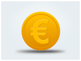 Coin-euro by customicondesign