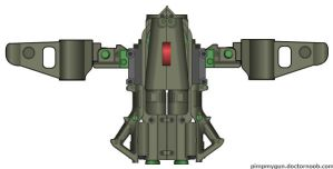 Dagger UAV or scout Mech Chassis by GeneralRich