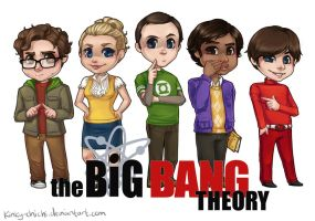 The Big Bang Theory by Kinky-chichi