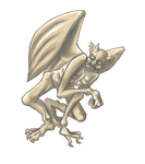 Gargoyle by Pluie-Froide