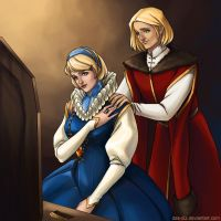 Hetalia: Poland and Ukraine by Das-diz