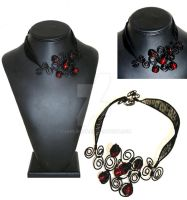Flamenco Necklace by charliecfp